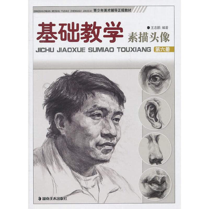 《*基础教学--素描头像(第六册)》(王志鹏.)【简介