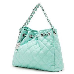 [当当自营]薇茉 甜美恋情系列时尚两用包1101052402水蓝色