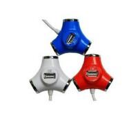 SSK飚王 4口HUB 水管SHU012 USB分线器 HUB 高速扩展口 4口集线器