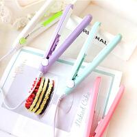 韩国创意时尚迷你陶瓷拉直夹板 电卷发棒 直发器 卷直两用烫发器  30