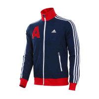 adidas阿迪达斯男装 运动休闲立领针织夹克外套 AZ8434