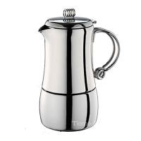 Tiamo不锈钢摩卡壶 意式家用煮咖啡壶4人份 HA2289