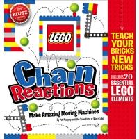英文进口原版 乐高积木LEGO Chain Reactions创造令人惊奇的可动机械(儿童节礼物)