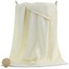 [当当自营]三利 长绒棉缎档大浴巾 高毛圈加厚款 70x140cm 米色