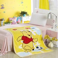 绚典家纺 大版卡通双层定位童毯 儿童宝宝毛毯 空调毯休息盖毯