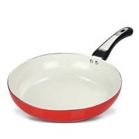 家用陶瓷小平底锅  鸡蛋煎蛋  牛排煎饼锅通用厚燃气电磁炉