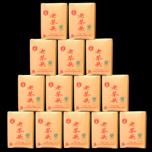 【两包一起拍】2006年凤牌陈年老茶头 古树熟茶 散装500克/包