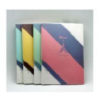 晨光学生胶套本软抄本笔记本韩版记事本B5-100页 厚本子4F847