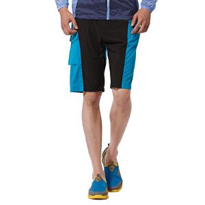 AIRTEX/亚特 纽扣袋弹力 修身五分裤速干裤子男 英国时尚户外