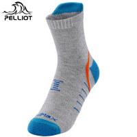 【618返场大促】法国PELLIOT户外登山徒步速干袜子 男女排汗防滑耐磨透气快干袜子