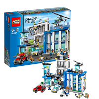 LEGO 乐高 CITY城市系列 警察总局 积木拼插儿童益智玩具 60047