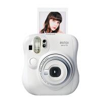 【支持礼品卡+包邮+送相纸】Fujifilm/富士 instax mini25一次成像相机白色 拍立得胶片 趣奇相机_白色