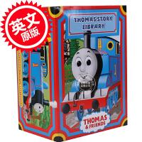 [现货]托马斯和他的朋友们套装 英文原版 My Thomas Story Library Train 托马斯经典故事集图书馆套装 40册