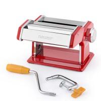 擀面器   家用手动压面机   小型分体式手摇��饺子皮擀面器 不锈钢面条机