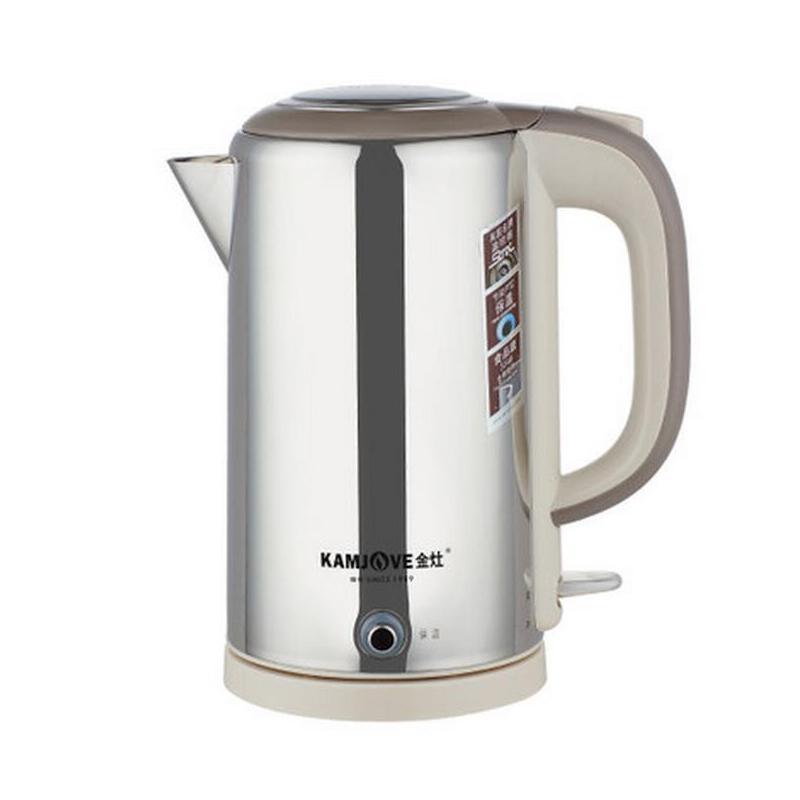 金灶t-917 电热水壶不锈钢自动断电保温电茶壶 1.7l