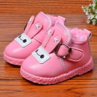 【冬季清仓】小童短靴软底童鞋加绒加厚保暖女童棉靴冬款宝宝棉鞋