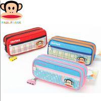 全国包邮大嘴猴儿童笔袋密码锁笔盒男女多功能小学生可爱多层文具盒