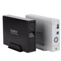 ORICO 7618US3串口台式USB3.0移动硬盘盒子高速3.5寸SATA支持4TB