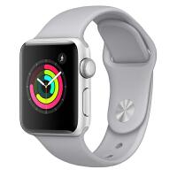 【当当自营】Apple Watch Series 3智能手表(GPS款 42毫米 银色铝金属表壳 云雾灰色运动型表带