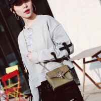 复古小方包包女2017春夏新款韩版磨砂锁扣链条包单肩斜跨小包包