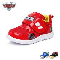迪士尼Disney童鞋汽车总动员麦昆宝宝鞋婴童学步鞋秋款步前鞋婴儿鞋 红色(0-4岁可选)  DJ1000