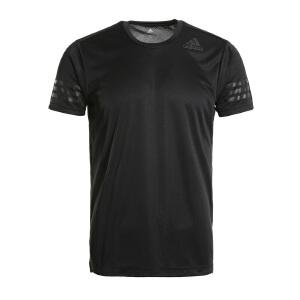 Adidas阿迪达斯 2017夏季新款男子运动休闲短袖T恤 BK6120/BK6126