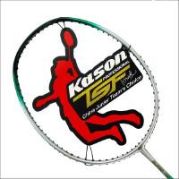 送线和球包 凯胜羽毛球拍 全碳素 正品 KASON TSF98 单拍羽拍 免费穿好线 送龙骨手胶 三只装包