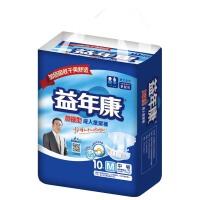 [当当自营]益年康加强型成人纸尿裤M号 10片 男女适用