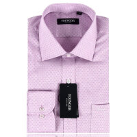 雅戈尔衬衫男装正品商务正装全棉粉色免烫长袖衬衣 XP11327-33