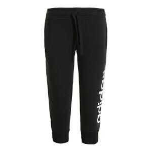 Adidas阿迪达斯 2017夏季新款女子运动休闲中裤 S97150