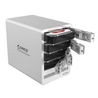 ORICO 9548U3外置硬盘盒4盘位硬盘柜usb3.0移动硬盘盒硬盘箱