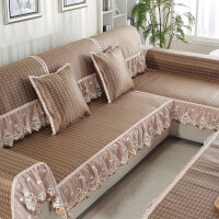 沙发垫冰藤欧式沙发巾沙发坐垫套装