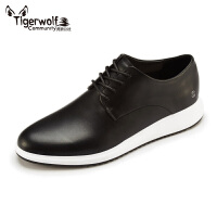 Tigerwolf虎狼公社 休闲厚底男鞋时尚潮鞋春夏板鞋英伦风范青年鞋