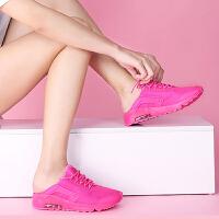贵人鸟女鞋跑鞋 新款透气踩后跟懒人鞋运动鞋华莱士复古鞋F64008