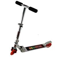 【当当自营】炫梦奇两轮滑板车 踏板车滑滑车 折叠车溜溜车  808银白