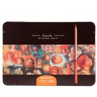 全国包邮马可3100专业油性彩色铅笔 36色 48色72色铁盒装涂色填色彩笔