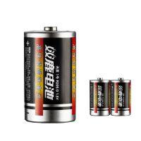 双鹿电池 双鹿1号电池 1号碳性电池 燃气煤气灶热水器电池 2节装