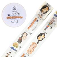 【当当自营】广博(GuangBo)原创手账和纸胶带手帐贴纸文具胶带kinbor/一味DTB64071