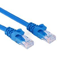 五类网线 cat5e电脑机房室外网络跳线路由器交换机连接线 带水晶头 机制成品网线1/2/3/5/10/20/30/50米m