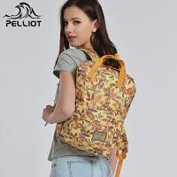 法国PELLIOT登山包双肩男女 户外背包旅行运动包徒步书包双肩背包
