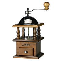 台湾原装BE8525双层手摇磨豆机 咖啡研磨机 家用 古典磨咖啡豆机