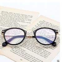 新款韩版时尚眼镜架 2929金属鼻梁眼镜框 可配近视平光镜