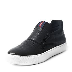 Belle/百丽专柜同款冬季牛皮男休闲鞋4RF01DM6