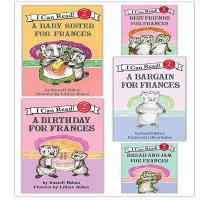 原版儿童英文绘本I Can Read Frances弗朗西斯系列5本套装