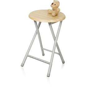 [当当自营]慧乐家 木面钢折椅22018