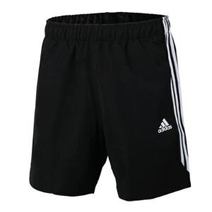Adidas阿迪达斯 2017夏季新款男子跑步训练运动休闲短裤 S88113