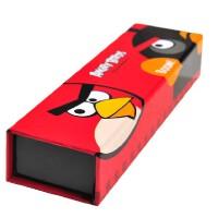 广博 愤怒的小鸟多功能小学生铅笔盒 可爱笔盒大容量文具盒AB5412