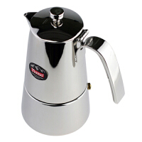 Tiamo原装不锈钢摩卡壶 意式家用煮咖啡壶 6人份 HA1584