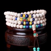 缘饰传说 藏式星月菩提子佛珠手串108颗8mm  天然顺白正月干磨高密男女款菩提手链