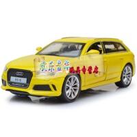 嘉业1:32 汽车模型奥迪RS6合金车 声光回力儿童玩具车 奥迪RS6黄色 奥迪RS6红色 奥迪RS6蓝色
